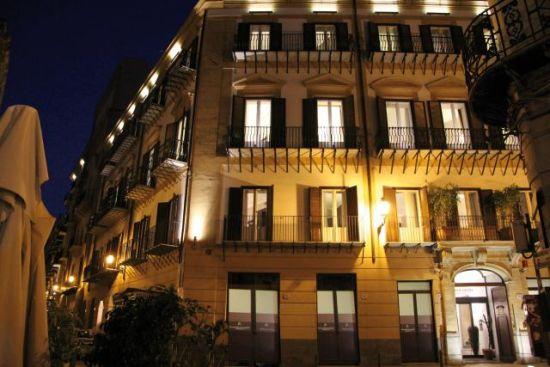 Palermo hotels hotel palazzo sitano for Design hotel palermo